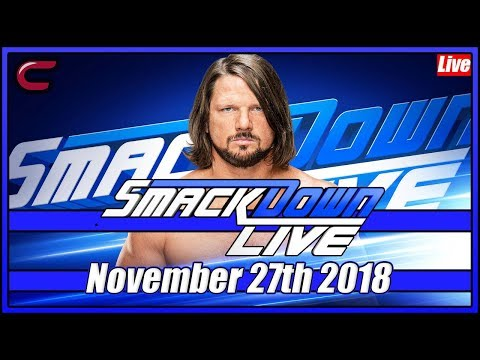 wwe-smackdown-live-stream-full-show-november-27th-2018-live-reaction-conman167