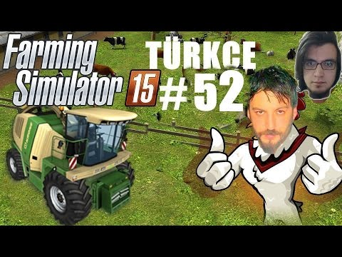 Farming Simulator 15 Türkçe Multiplayer   İlaçlama Servisi   Bölüm 52