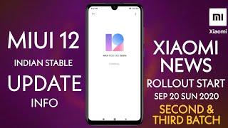 MIUI 12 INDIA STABLE UPDATE NEWS | INDIA ROLLOUT START | MIUI 13 LEAKS | POCO X3 LAUNCH DATE 🇮🇳❤️
