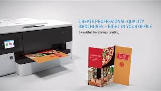 HP Officejet Pro 7720 (A3) Product Video