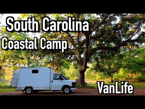 South Carolina VanLife - Coastal Camp 05/2021