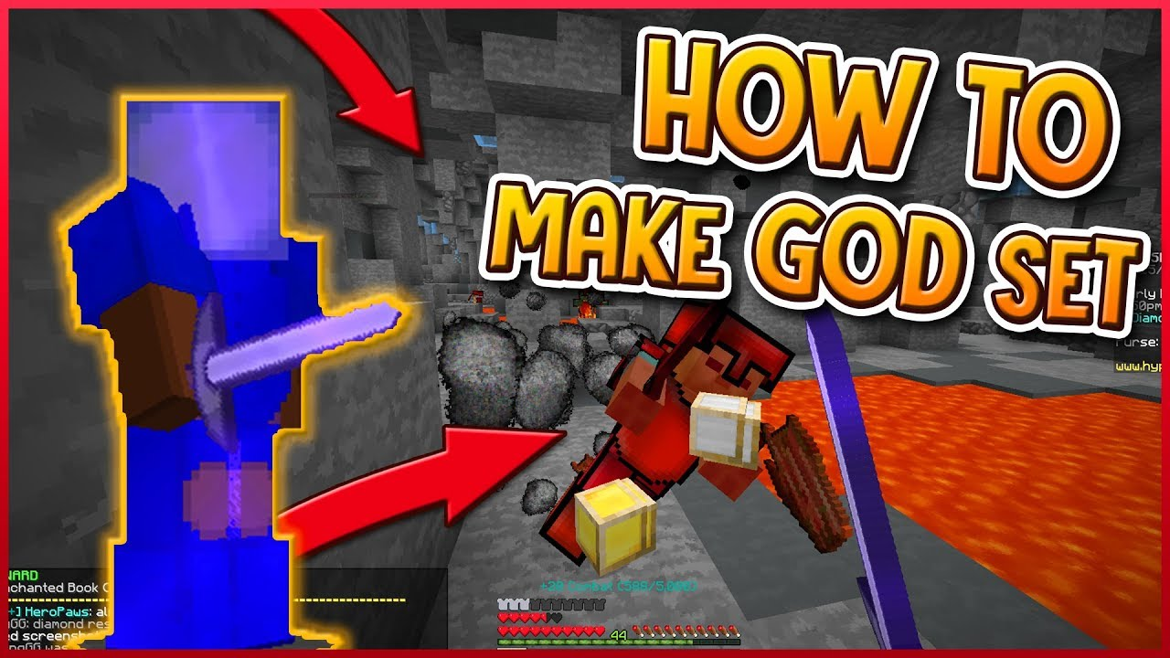 HYPIXEL SKYBLOCK | HOW TO MAKE A GOD SET! (ONE TAP)