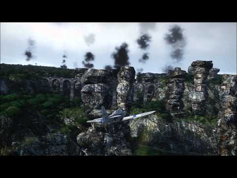 War Thunder: Air Race on Tropical Island, Realistic Setting