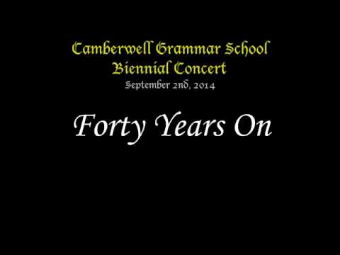 Forty Years On - CGS Biennial Concert 2014