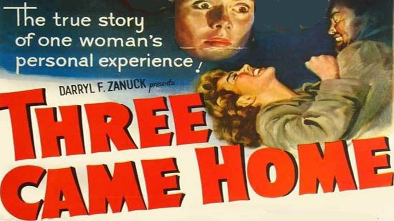 War Movie : Three Came Home (1950)