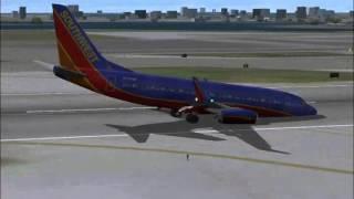 southwest airlines flight 345 crash landing lga reconstruction