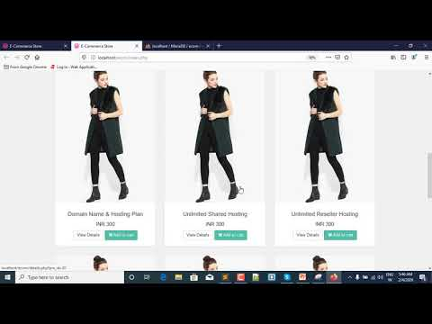 62-Working On Confim Order Page | Multivendor E-Commerce Website On PHP