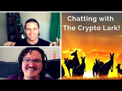 Chatting with The Crypto Lark! Talking You-tubing, Bitcoin, NEO, China, and meet ups!