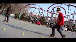 Freestyle Slalom 2015   Фристайл слалом на роликах
