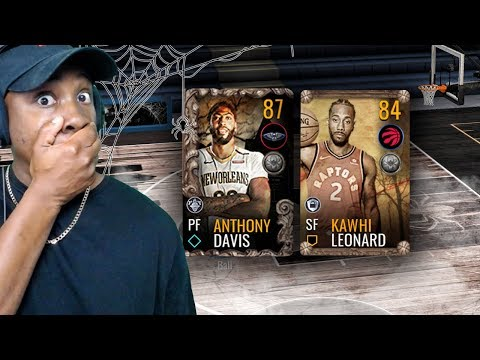 87 OVR HALLOWEEN MASTER ANTHONY DAVIS & PACK OPENING! NBA Live Mobile 19 Season 3 Ep. 14