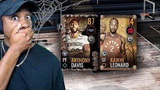 87 OVR HALLOWEEN MASTER ANTHONY DAVIS & PACK OPENING! NBA Live Mobile 19 Season 3 Ep. 14