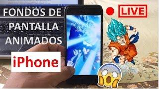 Vídeos Como Fondo De Pantalla Del Iphone Iphone7 6s Youtube