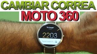 ¿Cómo cambiar la correa del Motorola Moto 360? Tutorial + Review Mejor Correa: Clover Strap
