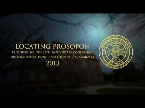LOCATING PROSOPON Intro