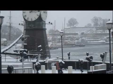 Neve ad Aker Brygge   26 gennaio 2013