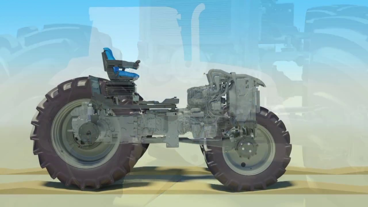 Tractor Front Suspension : How it works new holland t terraglide™ front axle