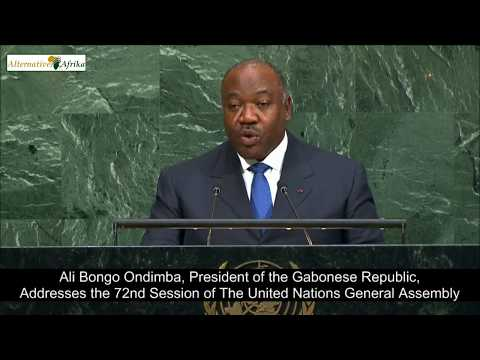 Gabon - President Addresses the 72nd Session of the United Nations General Assembly