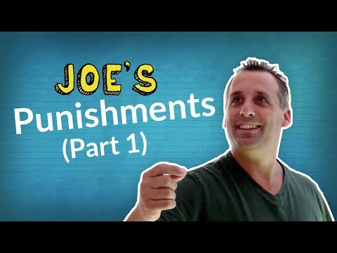 JOE from Impractical Jokers — ALL Punishments pt 1