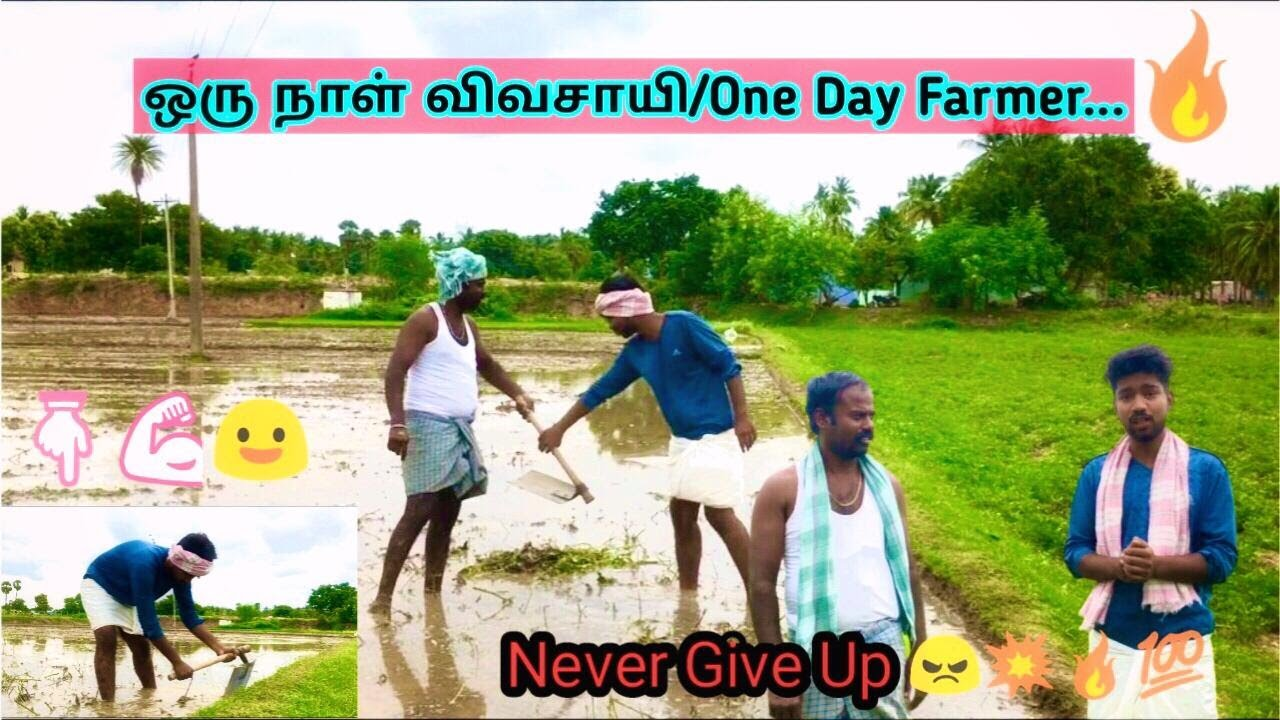 இன்று நான் விவசாயம்  கற்றுக்கொள்கிறேன் .  IT Dude VS Farmers.#commonmandina #savefarmers  ?