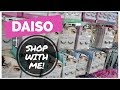 DAISO SHOP WITH ME! Japanese Dollar Store Tour & Haul | November 2017