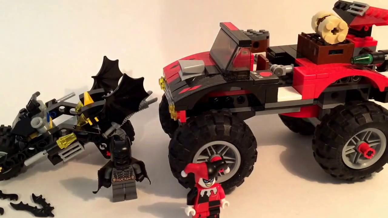 Lego Batman The Batcycle: Harley Quinn's Hammer Truck 7886 ...