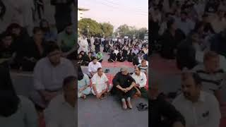 dharna outside Punjab Assembly again bahawalnagar incident