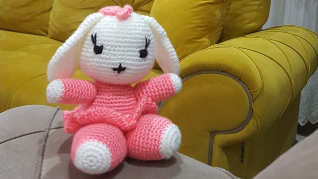 Amigurumi sevimli tavşan yapılışı 3.bölüm