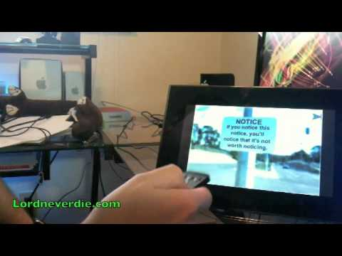 Digital Picture Frame Review (Insignia NS-DPF9G) - YouTube