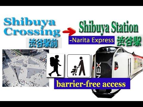 TOKYO.【渋谷駅】How to get Narita Express platform at Shibuya Station (成田エクスプレスのホーム)