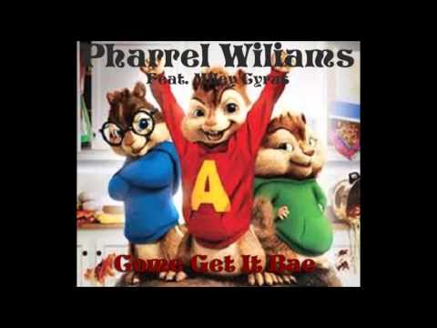 [CHIPMUNKS] Pharrell Williams - Come Get It Bae ( feat. Miley Cyrus )