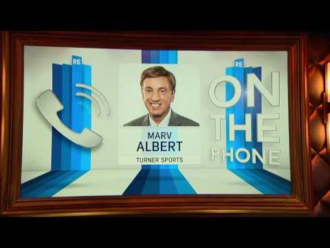 Marv Albert  of NBA on TBS Talks Cavs & Warriors - 10/24/16