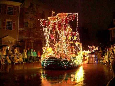 Disney World Magic Kingdom Electric Light Parade 4 2013