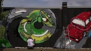 Safe Driving Street Art Convention. Autodromo di Varano. Pr