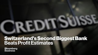 Credit Suisse Beats Estimates and Swings to Profit