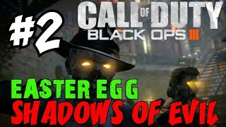 "BLACK OPS 3 ZOMBIES: Shadows of Evil! ★ ""LIVE EASTER EGG RUNTHROUGH! [2]"" Let"