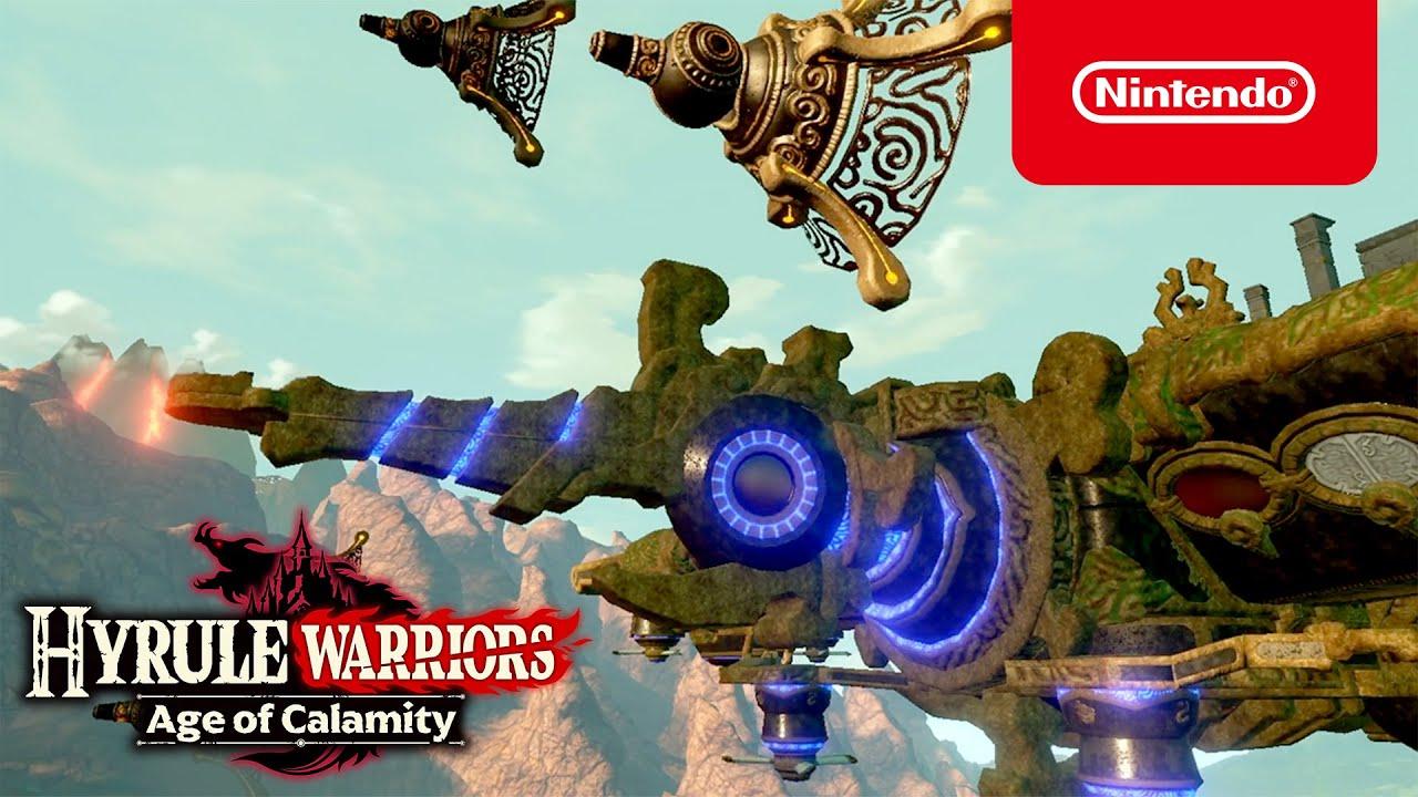 Hyrule Warriors Age Of Calamity Gratis Demo Beschikbaar Nintendo Switch Youtube