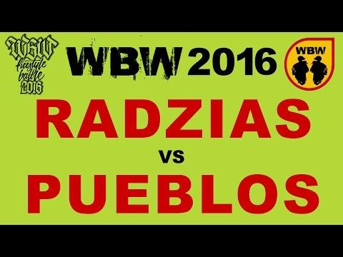 bitwa PUEBLOS vs RADZIAS # WBW 2016 Białystok # freestyle battle
