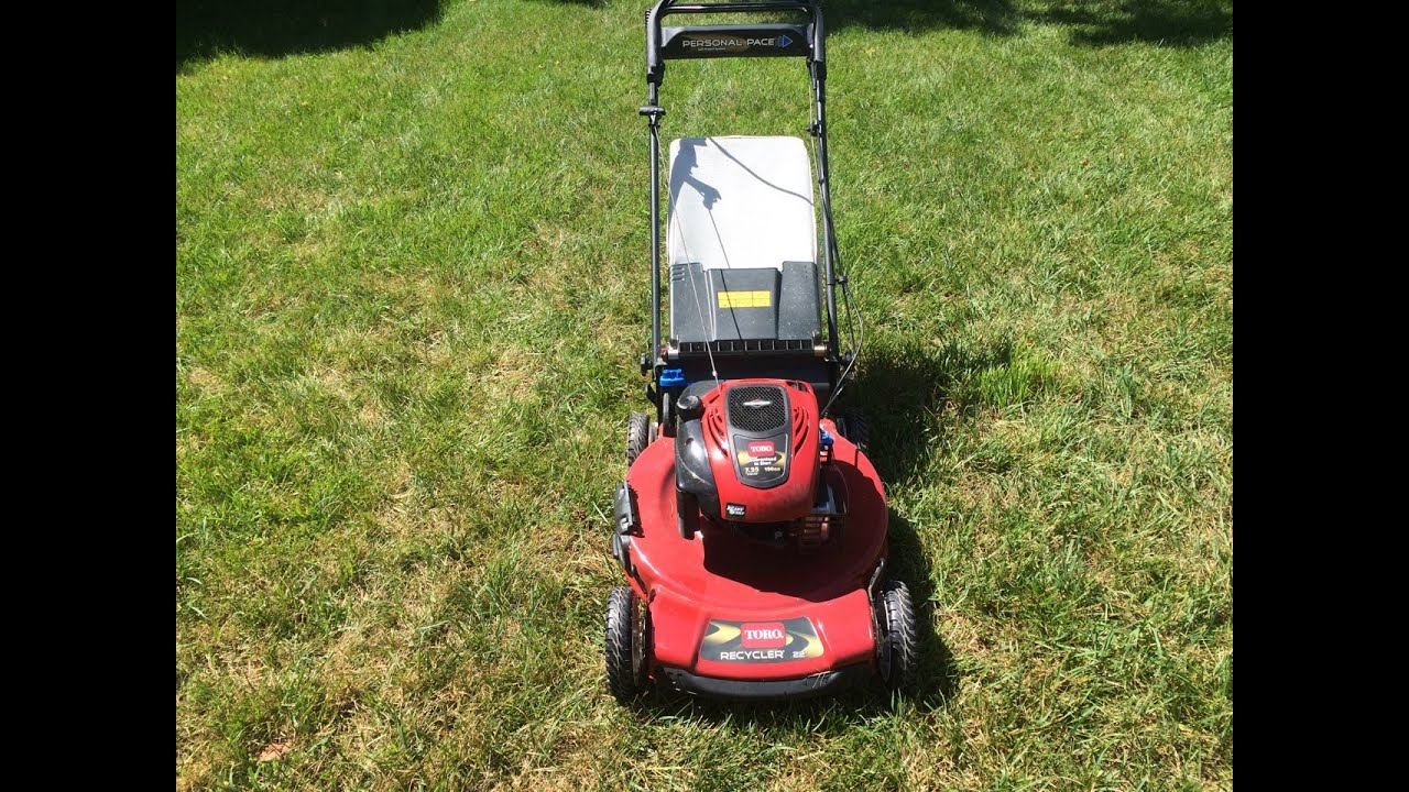 toro personal pace recycler lawn mower model 20332 nice craigslist rh youtube com toro recycler model 20332 manual toro model 20332 parts diagram