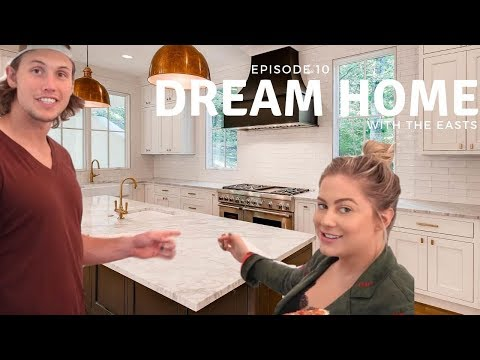 the dream home kitchen.   the east family