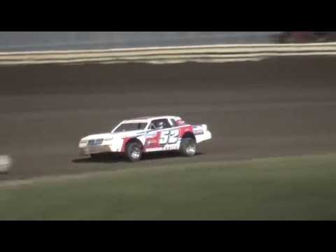 IMCA Stock Car feature Lee County Speedway 8/19/16
