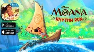 Moana: rhythm run - ios / android game trailer hd 1080p