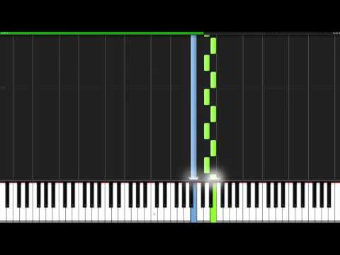 First Step - Interstellar Piano Synthesia Tutorial