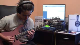 Periphery - MK Ultra (guitar solo cover)