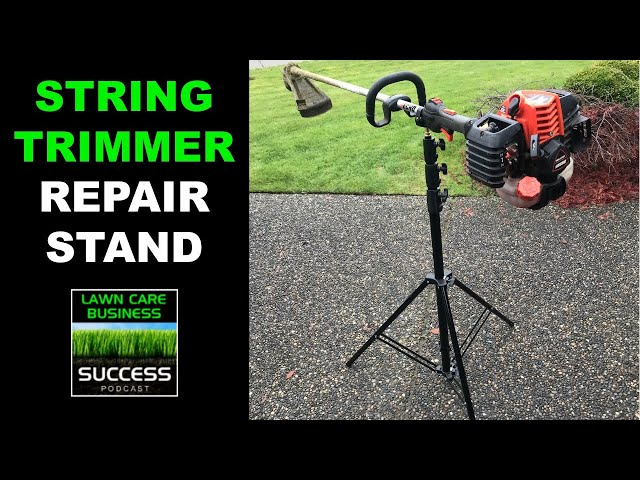 Simple String Trimmer Repair Stand