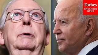 McConnell: Optimism In America Has Plummeted Since Biden Took Office