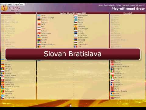 Uefa Europa League 2009-2010 Play Off Draw