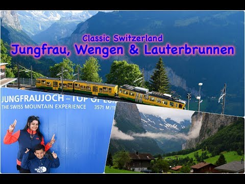 Europe Travel Diaries: Jungfrau, Wengen & Lauterbrunnen, Switzerland – by Ishaan & Family