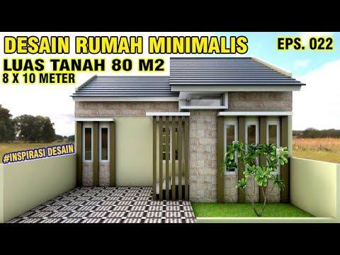 desain rumah minimalis luas tanah 80 - download wallpaper