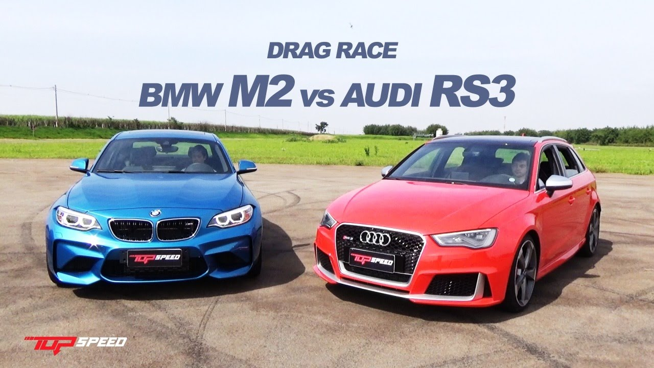 Drag Race Audi RS Vs BMW M YouTube - Bmw vs audi