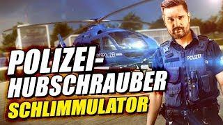 Sorry, bin jetzt leider VÖLLIG ABGEHOBEN 👮 Polizei Hubschrauber Simulator [001]
